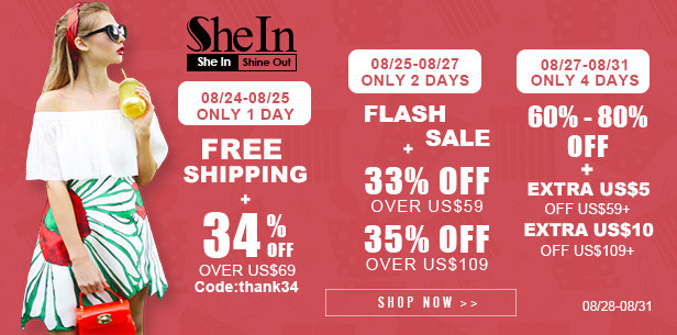 Peças femininas em promoção na SheIn ♥