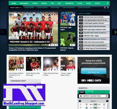 daftar situs sepak bola Goal.com