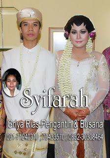 Pernikahan Adat SurabayaSyifarah- Rias penagntin surabaya, Akad nikah