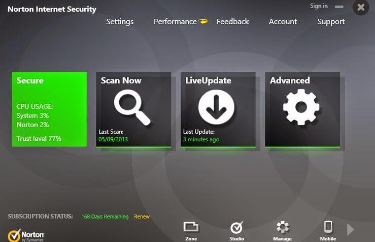 Norton AntiVirus 2014 21.6.0.32 Free Download