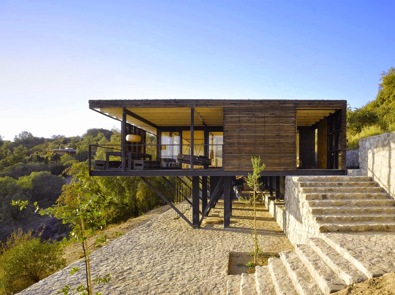 Hestia dise o casa raul mathias klotz for Sip houses usa