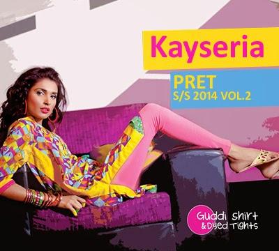 Kayseria Pret Spring/Summer Dresses 2014 Vol-2