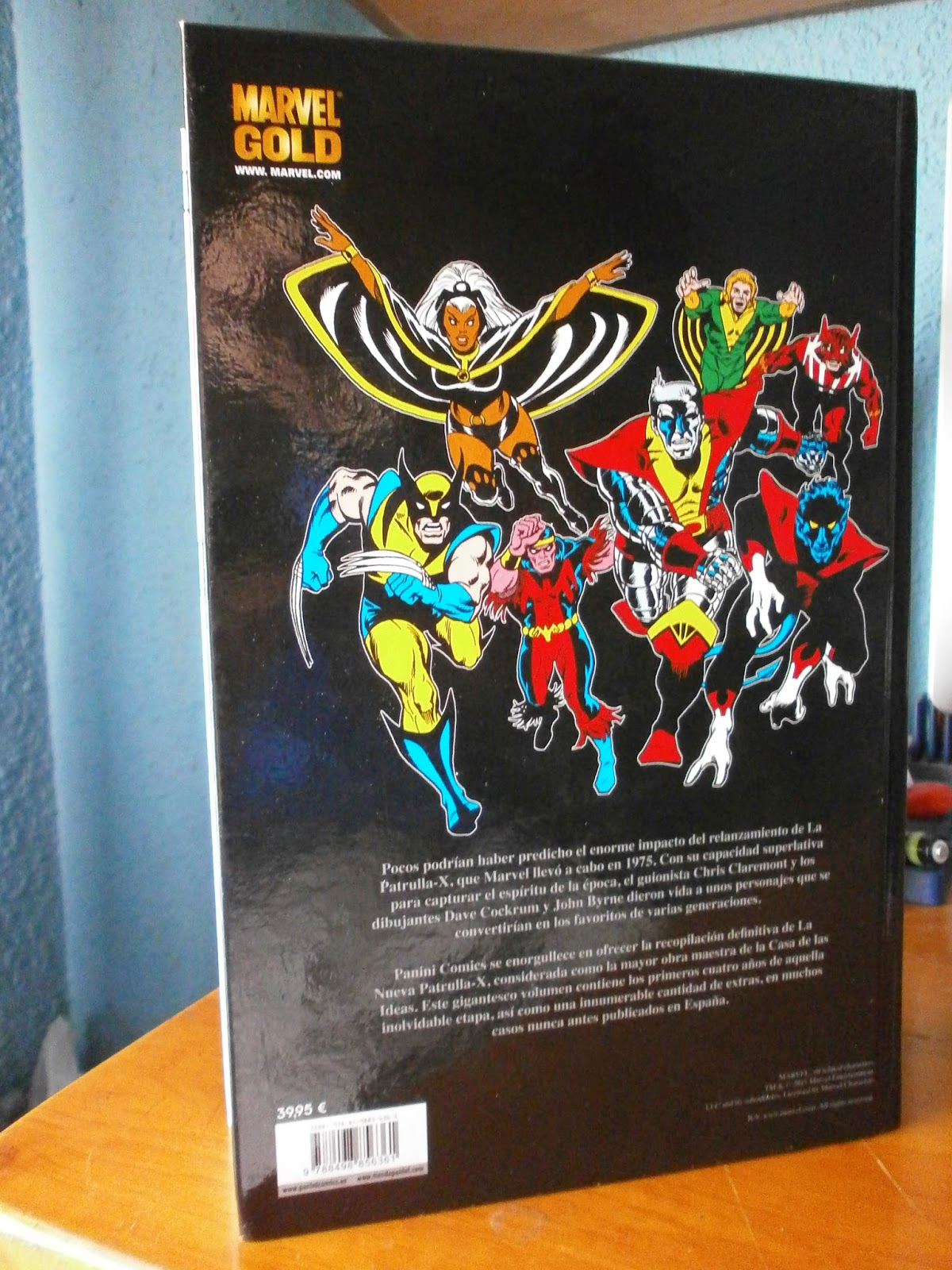 Los números que abarca son los siguientes: Giant-Size X-Men 1, Uncanny X-Men  94-121, Iron Fist 15 y Marvel Treasury Edition 26 USA.