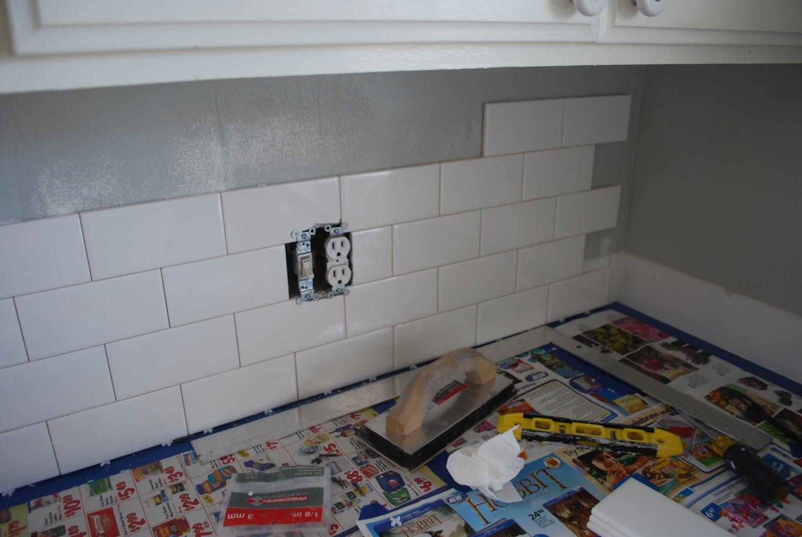 Kraken Crafts: A Little Bit of Subway Tile