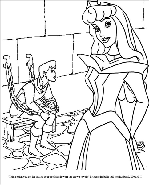 Sweet Junipers Historically Accurate Coloring Book Of Cruel And Unhappy Princesses Part One
