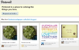 I've been pinned...at Pinterest