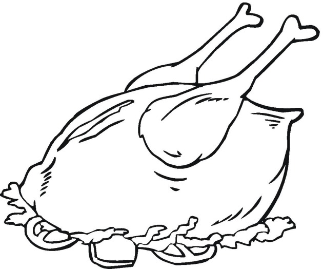 meats coloring pages - photo#14