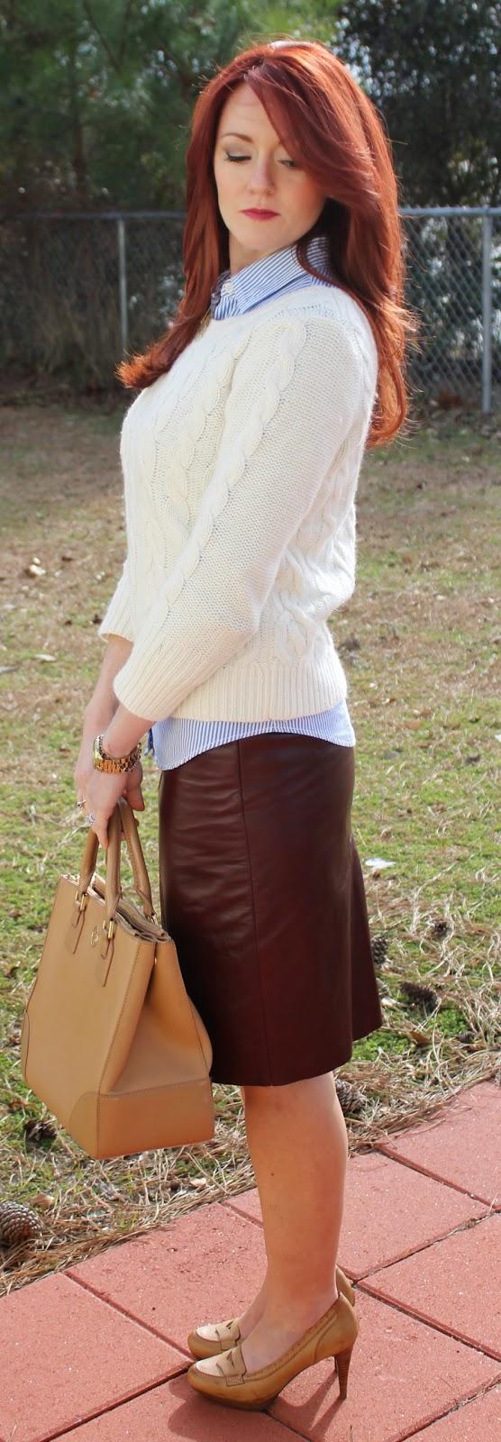 Loft Cable Sweater Dress
