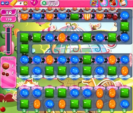 Candy Crush Saga 587