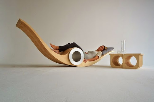 Exocet Chair by Stéphane Leathead