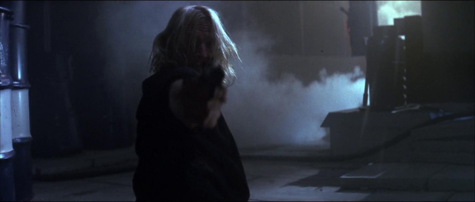 Die Hard Bruce Willis film 1988 Karl pistol fire scene screenshot