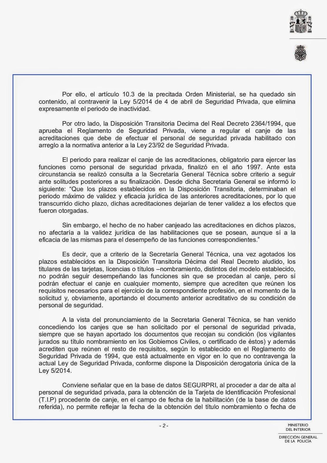 En 7 07 2014 10 42 00 p m for Ley del ministerio del interior
