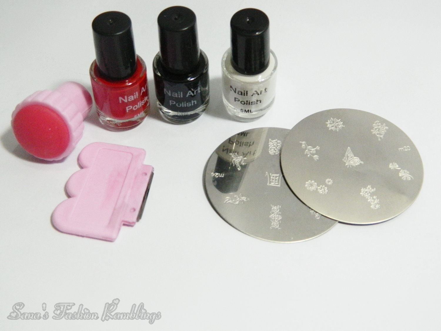 Born Pretty Nail Art Stamping Kit Review Sanas Ramblings