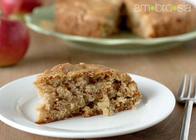ambrosia: Apple Dapple Cake