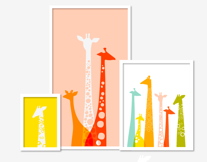 Jeanie & Jewell: More Giraffes
