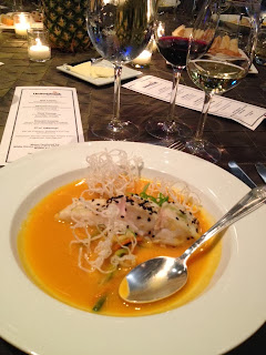 Karen Caplan's Blog - Red Curried Sweet Potato Soup. Chef Walter Scheib.