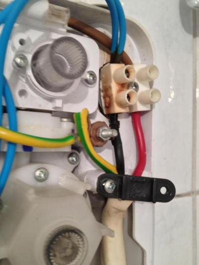 Ελαττωματική κλέμμα σύνδεσης σε συσκευή