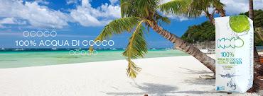 Dalle spiaggie dei tropici arriva un'onda di energia, OCOCO 100% acqua di cocco.