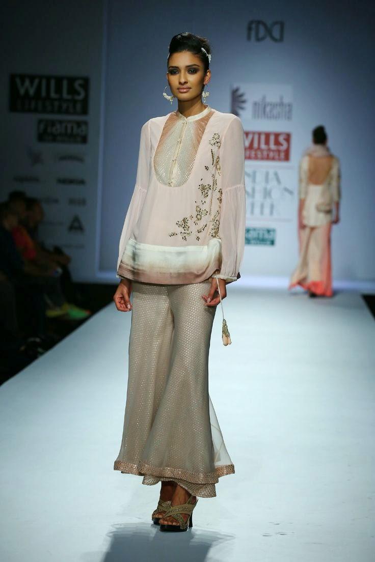Nikasha show at wills lifestyle india fashion week 2014 vega fashion mom Wills lifestyle fashion week