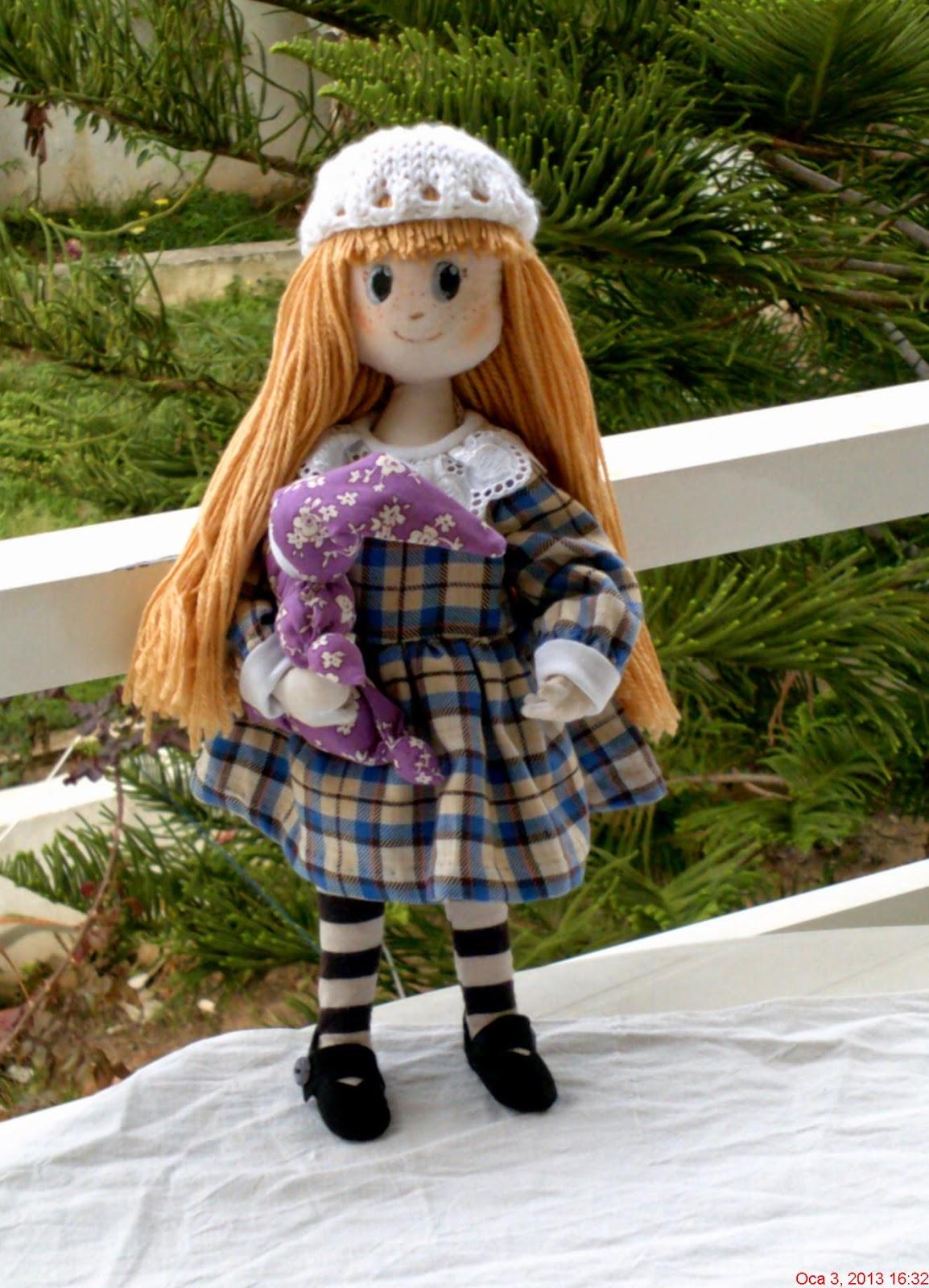 Кукла Диляра по мотивам японских тряпиенсов