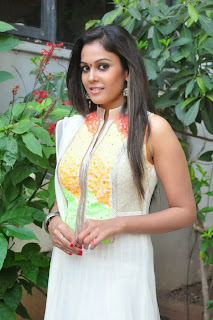 Chandini Latest Pictures in Salwar Kameez at Kiraak Movie Opening