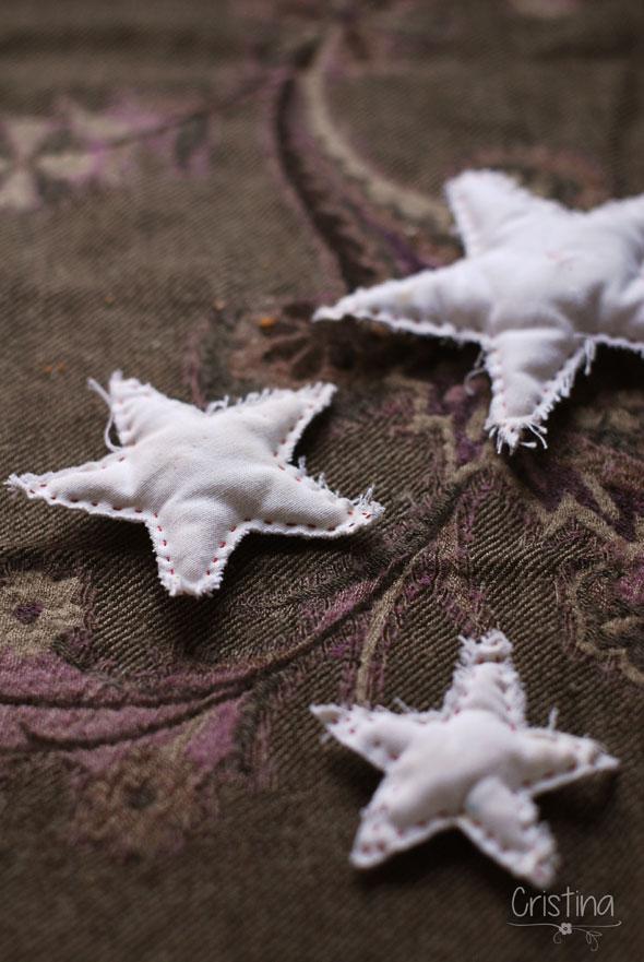 estrellas de tela