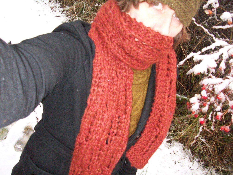 Knitting A Chunky Scarf : Knitting architect great chunky scarf pattern