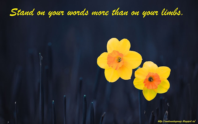 Keeping your Word Quotes