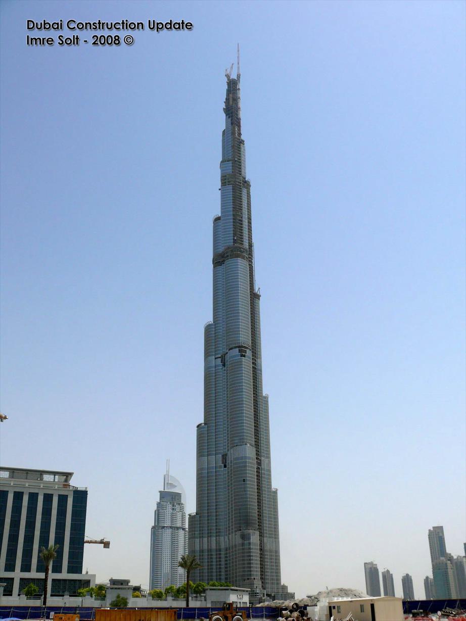 Correnti d 39 architettura burj dubai il grattacielo pi - Dubai grattacielo piu alto ...