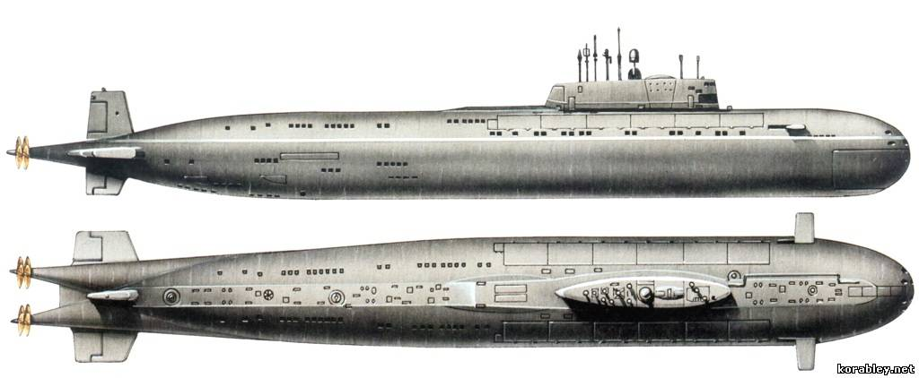 history of russia submarine kursk Сauses