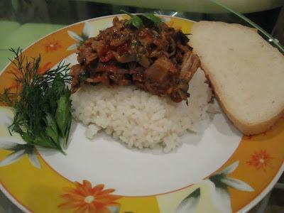 тунец с рисом