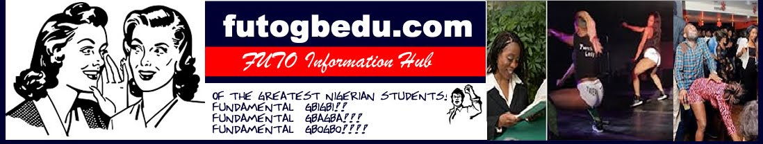 FUTO GBEDU: Whispering into your Ears | Admission lists | Certification Examinations