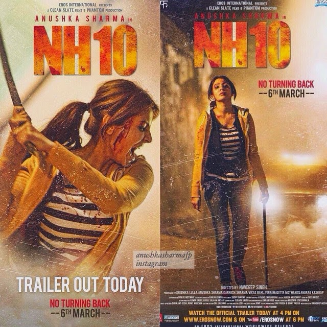 NH10 movie review, Nh10 audience reaction, Best 2015 bollywood movie, Women centric bollywood movie