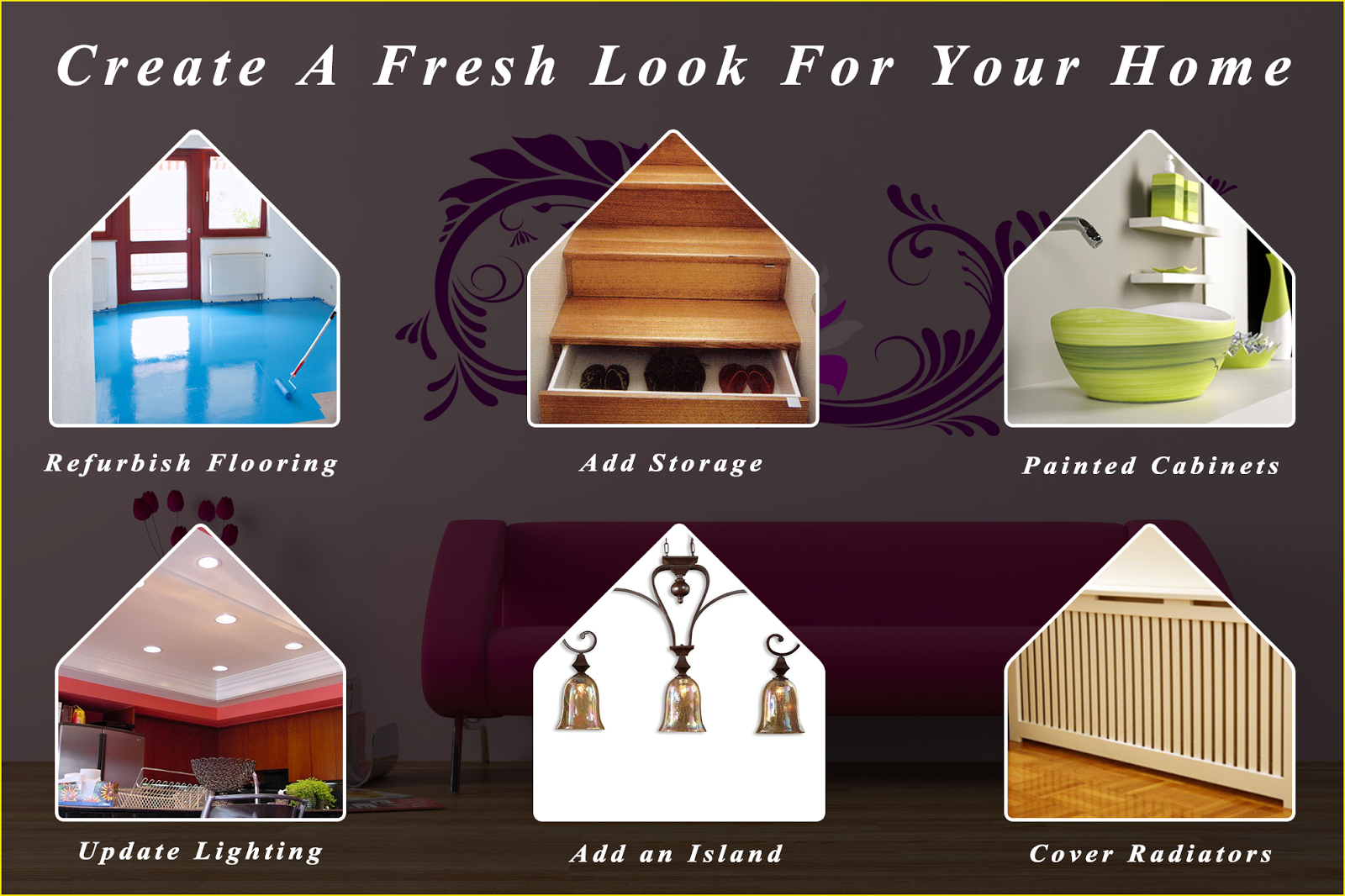 Create A Fresh Look For Your Home