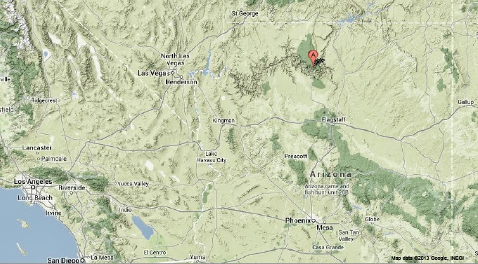 Sciency Thoughts Magnitude 26 Earthquake near the Grand Canyon