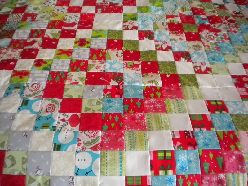 Awesome I think I love this scrappy quilt even more than my first scrappy trip around the world quilt