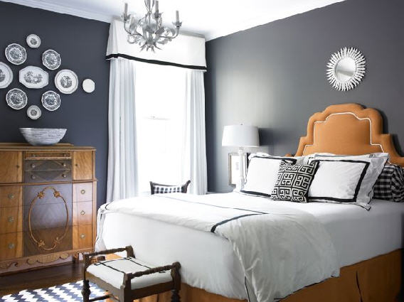 Grey Bedroom Wall Color