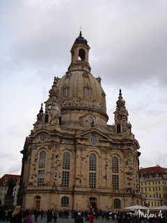 Fraunkirche, Dresden, Germany // photo by Melani A - magsbeadscreation.com