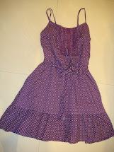 Wondercloset Pretty Purple Sun Dress