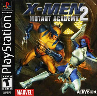 Men Mutant Academy 2 Playstation PSX FULL ~ Juegos Portables