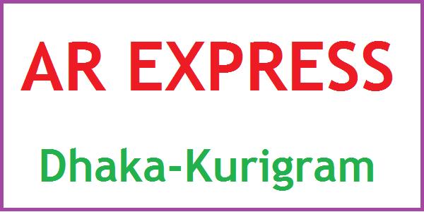 AR Express Dhaka-Kurigram Bus Service