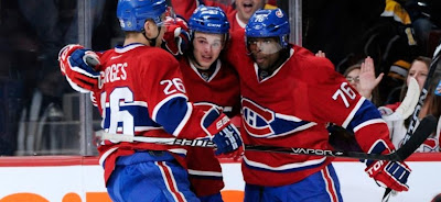 The Canadiens won a fifth game in six outings