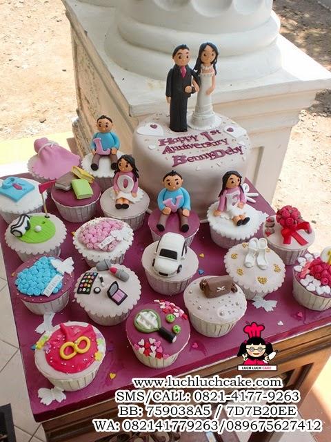 cupcake wedding kue tart wedding