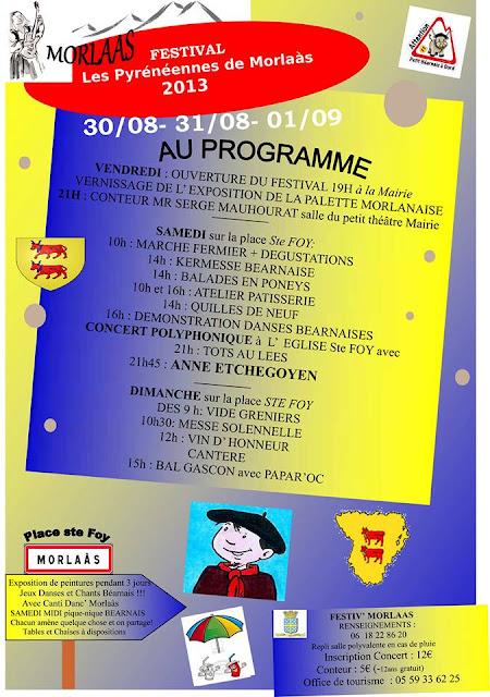 FESTIVAL Les pyrénéennes 2013 morlaas