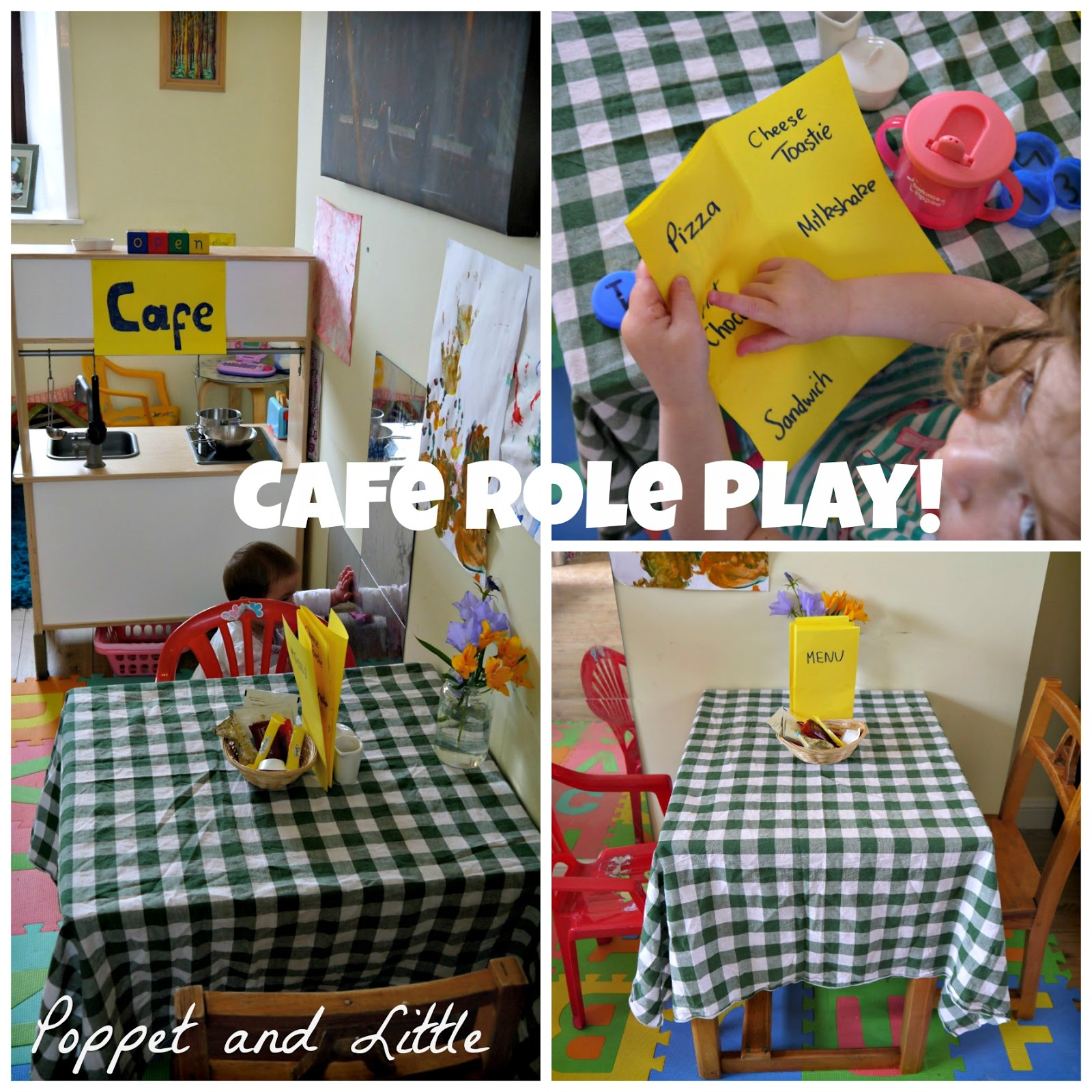 Poppet And Little: Cafe Role Play