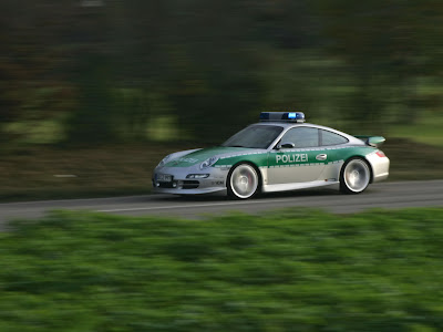 2005-Techart-911-Carrera-Police-Car-Porsche-Speed-Turing