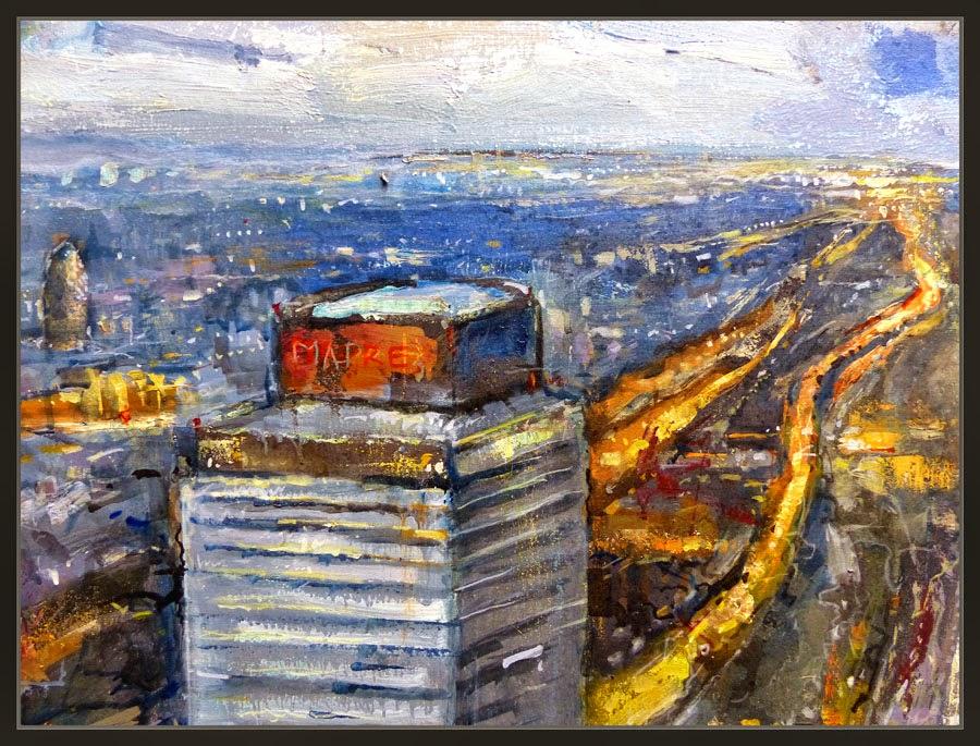Ernest descals artista pintor barcelona pintura paisajes - Trabajo de pintor en barcelona ...
