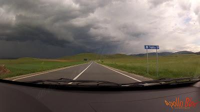 Furtuna spre Toplita