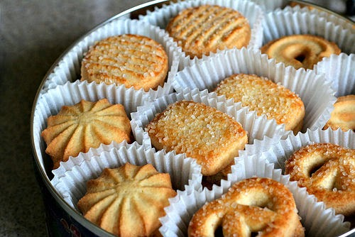 Resep Membuat Kue Butter Cookies Ala Monde Renyah