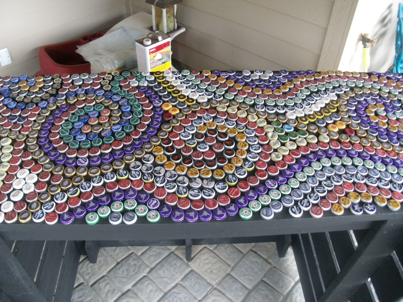 We three mothers transformation tuesday bottle caps for Beer bottle cap projects